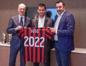 Suso CHÍNH THỨC gian hạn hợp đồng với AC Milan