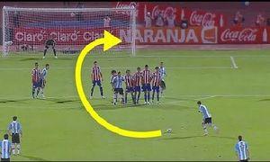 Những pha đá phạt thành bàn đẹp mắt đáng nhớ của Messi