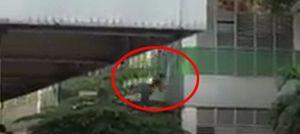 Một nam công nhân nhảy lầu ở công ty PouYuen