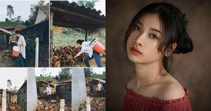 Xinh đẹp ngay cả khi cho gà, vịt ăn cô gái không ngờ với phản ứng của cư dân mạng