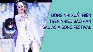 Đông Nhi gây sốt với phần trình diễn tại Asia Song Festival