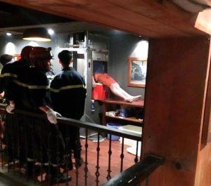 Kẹt thang máy đưa thức ăn nam thanh niên tử vong thương tâm