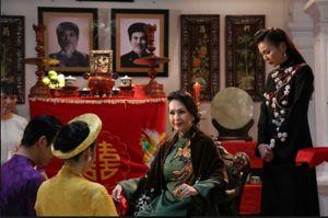 Lan Khuê và cuộc chiến chung chồng với Midu trong phim Mẹ chồng