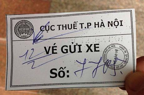 Cuc Thue HN len tieng ve viec thu phi gui xe cua khach - Anh 1