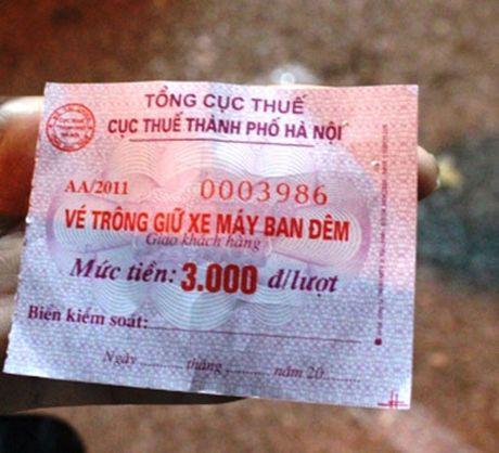 Cuc Thue HN len tieng ve viec thu phi gui xe cua khach - Anh 2
