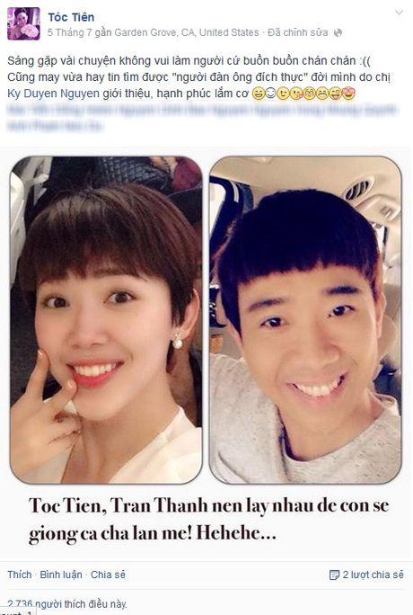 "MC Ky Duyen lam ""ba mai"" cho Tran Thanh va Toc Tien - Anh 1"