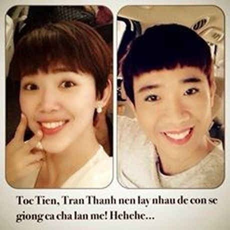 "MC Ky Duyen lam ""ba mai"" cho Tran Thanh va Toc Tien - Anh 3"