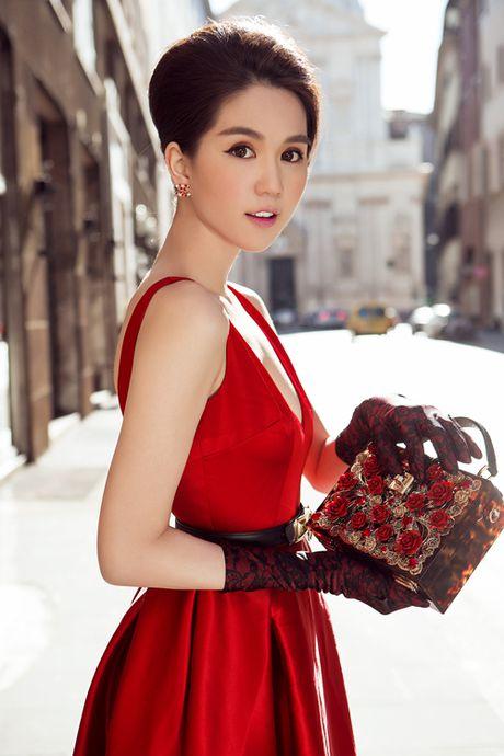 Ngoc Trinh: 'Ban trai toi chua tung ghen' - Anh 1