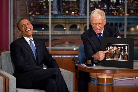 Tong thong Obama se tham gia Talk show cua Jimmy Kimmel - Anh 1