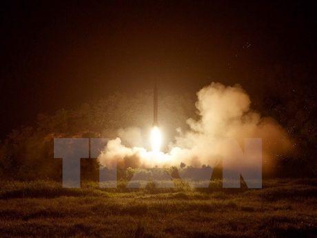 Trieu Tien chua the thu hat nhan, ten lua trong vai thang toi - Anh 1