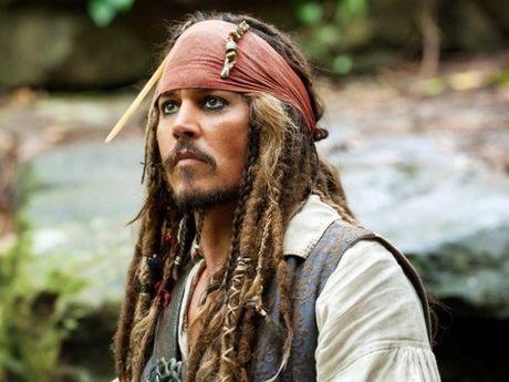 Johnny Depp bi thuong khi dong Cuop bien Caribbean 5 - Anh 1