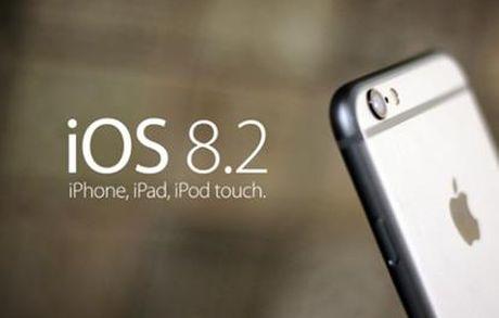 Cap nhat ngay iOS 8.2 cho iPhone, iPad va iPod touch - Anh 1