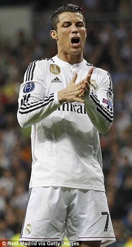 Ronaldo tuc gian trong ngay lap sieu ky luc - Anh 3