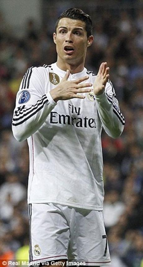 Ronaldo tuc gian trong ngay lap sieu ky luc - Anh 4