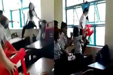 Lam ro vu nu sinh bi danh hoi dong, tung clip len mang - Anh 1