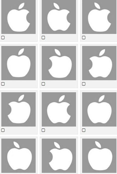 Ban co the nho chinh xac hinh dang logo cua Apple? - Anh 3