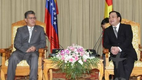 Viet Nam - Venezuela day manh hop tac ve nong nghiep - Anh 1