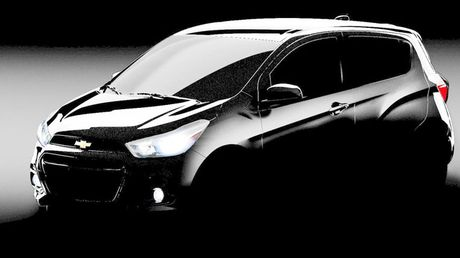 Chevrolet Spark 2016 sap trinh lang - Anh 1