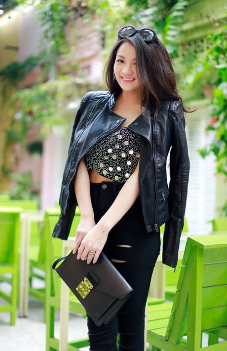 Thuy Top an tuong voi style da phong cach - Anh 1