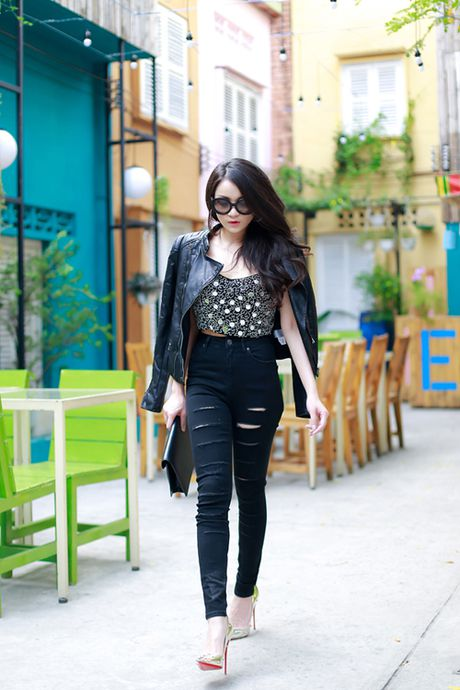 Thuy Top an tuong voi style da phong cach - Anh 2