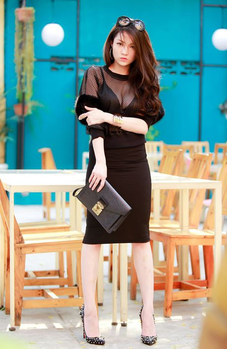 Thuy Top an tuong voi style da phong cach - Anh 5