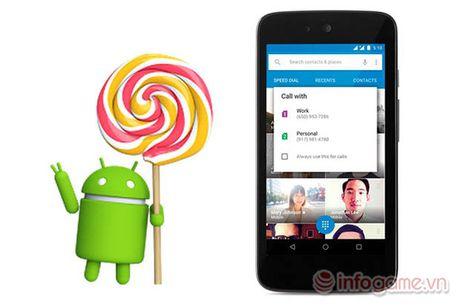Google chinh thuc cong bo Android 5.1 voi mot so tinh nang moi - Anh 1