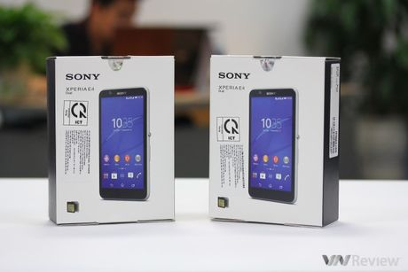 Tren tay Sony Xperia E4 chinh hang - Anh 2