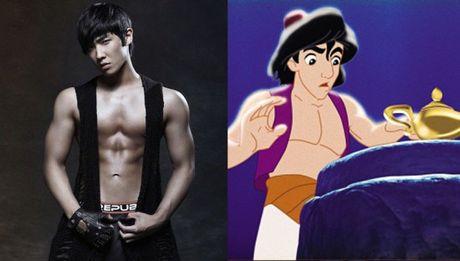 Nhung than tuong Kpop duoc vi dep nhu hoang tu - cong chua Disney - Anh 1