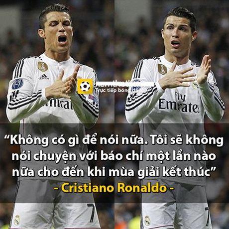 Miura chi la HLV hang xoang, Ronaldo tuyet giao voi bao chi - Anh 2