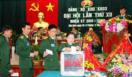 Kinh nghiem to chuc dai hoi Dang o Dang bo Lu doan 170 va Kho K802: De cao dan chu, giu dung nguyen tac - Anh 2