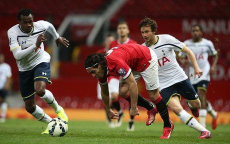Falcao choi nhat nhoa khi khoac ao U21 M.U - Anh 3