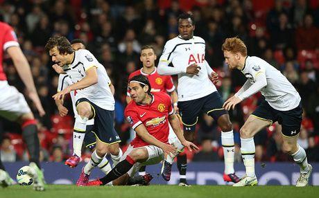 Falcao choi nhat nhoa khi khoac ao U21 M.U - Anh 5