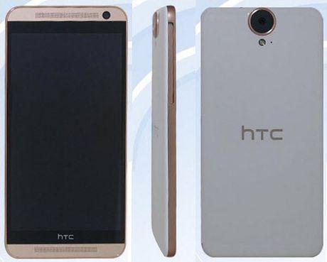 Ro ri hinh anh HTC One E9 voi cum camera lon - Anh 1