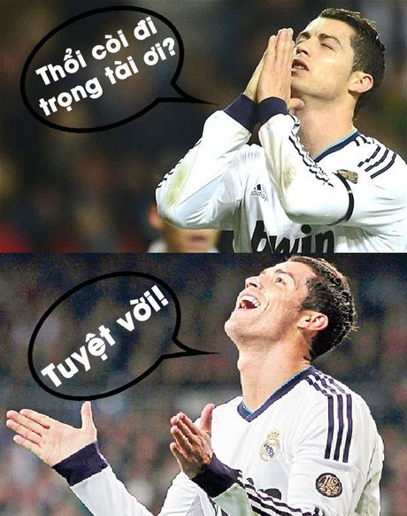Anh che Ronaldo cau mong trong tai ket thuc tran gap Schalke - Anh 5