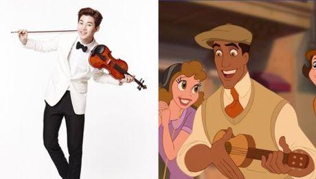 Nhung chang hoang tu Disney phien ban Kpop - Anh 6