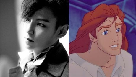 Nhung chang hoang tu Disney phien ban Kpop - Anh 9