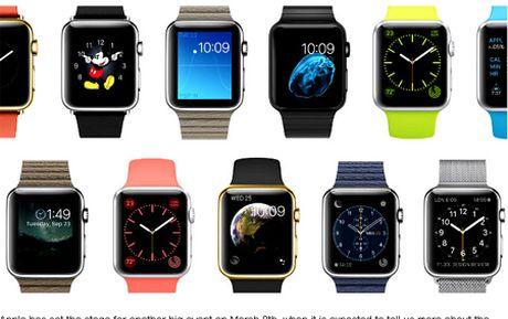Apple Watch ban duoc la nho... thiet ke? - Anh 1