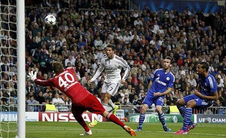 Real Madrid 3-4 Schalke: Ronaldo lap cu dup, Real hu via gianh ve di tiep - Anh 1