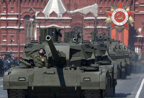 Sieu xe tang T-14 Armata co gia 85 ty VND - Anh 1