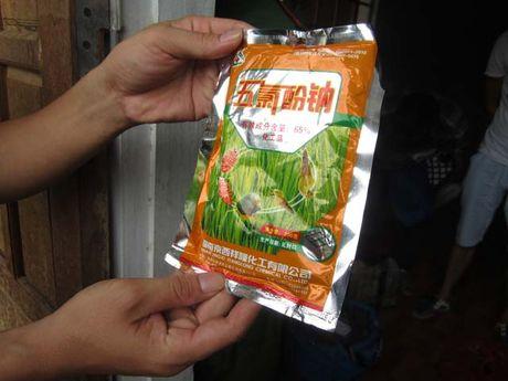 Thuong lai Trung Quoc du ba con dan toc dung hoa chat la bat giun - Anh 1