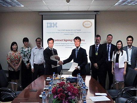 Ngan hang Nha nuoc bat tay IBM trien khai trung tam du lieu moi - Anh 1