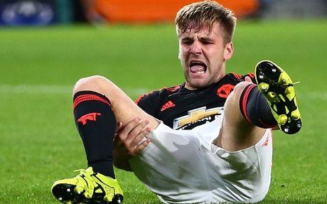 Luke Shaw mang tin vui cho Man United - Anh 1
