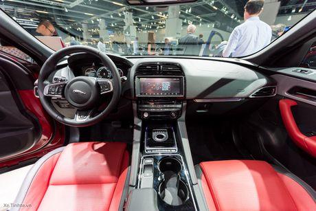 "[IAA 2015] ""Tren tay"" Jaguar F-Pace, mau crossover hang sang den tu nuoc Anh - Anh 15"