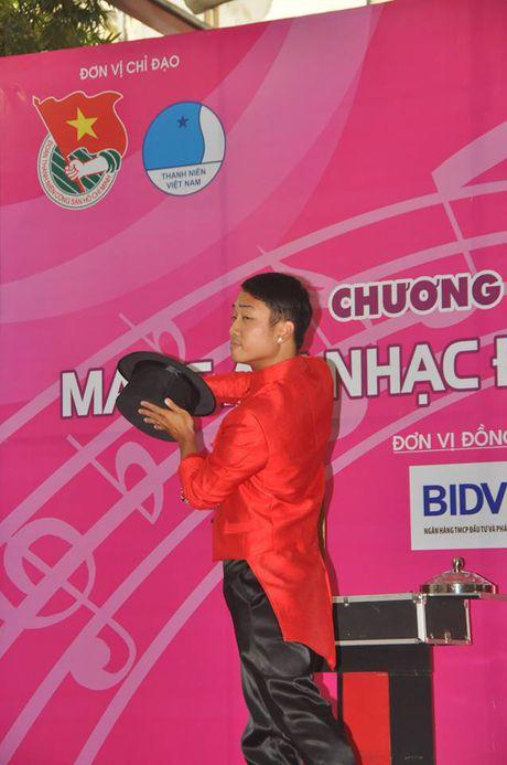 "Nghe si Viet chung tay ""Mang am nhac den benh vien"" - Anh 14"