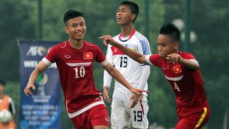 U16 Viet Nam thang Guam bang ty so 18-0 - Anh 1