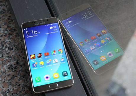 Danh gia Galaxy Note 5: Thiet ke xuat sac, chup anh an tuong - Anh 2