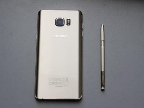 Danh gia Galaxy Note 5: Thiet ke xuat sac, chup anh an tuong - Anh 3