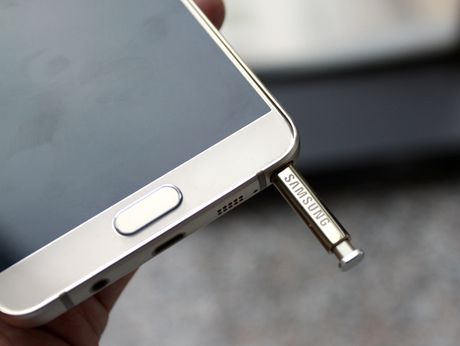 Danh gia Galaxy Note 5: Thiet ke xuat sac, chup anh an tuong - Anh 4