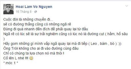 Hoai Lam bat ngo tuyen bo tam ngung ca hat - Anh 3