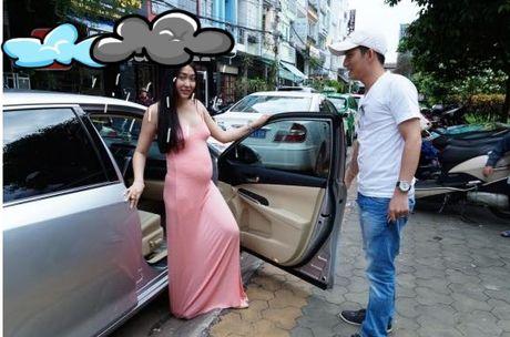 Phi Thanh Van tu tin khoe bung bau, dap tan tin don mang thai gia. - Anh 3